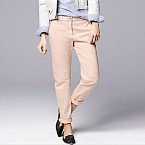 GAP   Light Blush Pink Straight Leg Khakis [Pants]